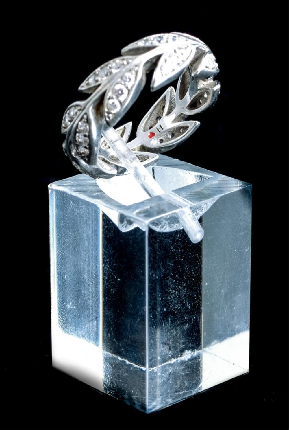 Sterling Silver & CZ Ring w/Earrings