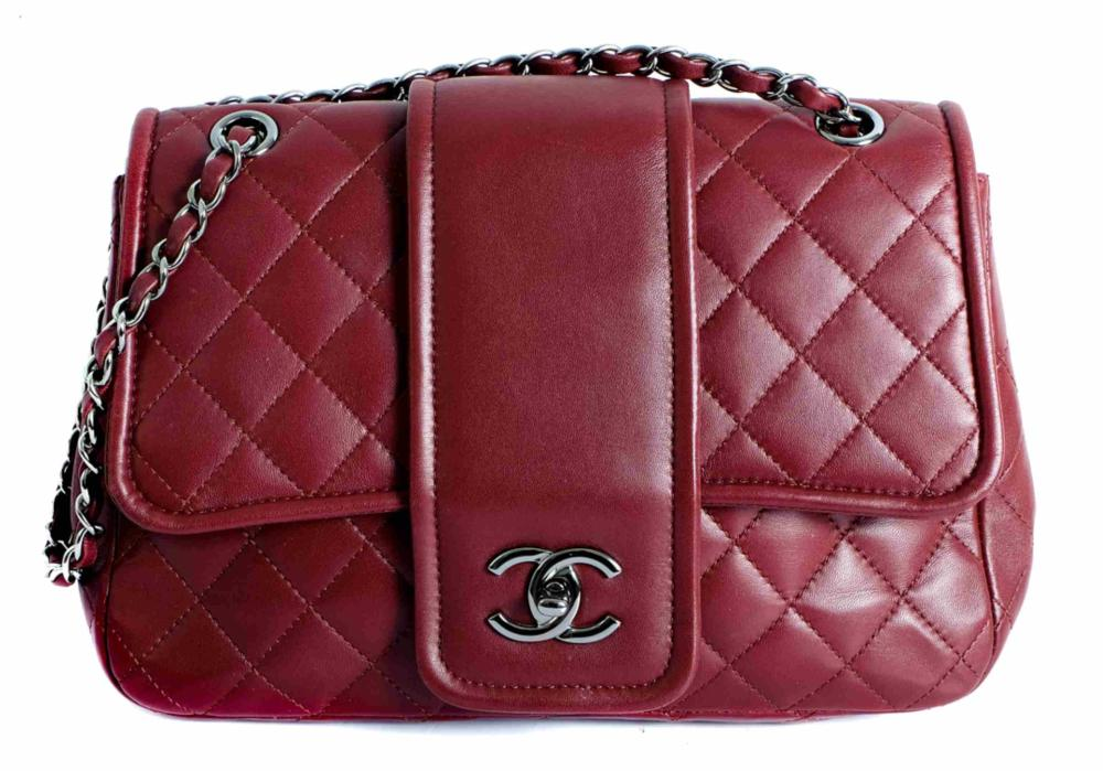 Chanel Quilted Lambskin Flap Bag w/Wallet