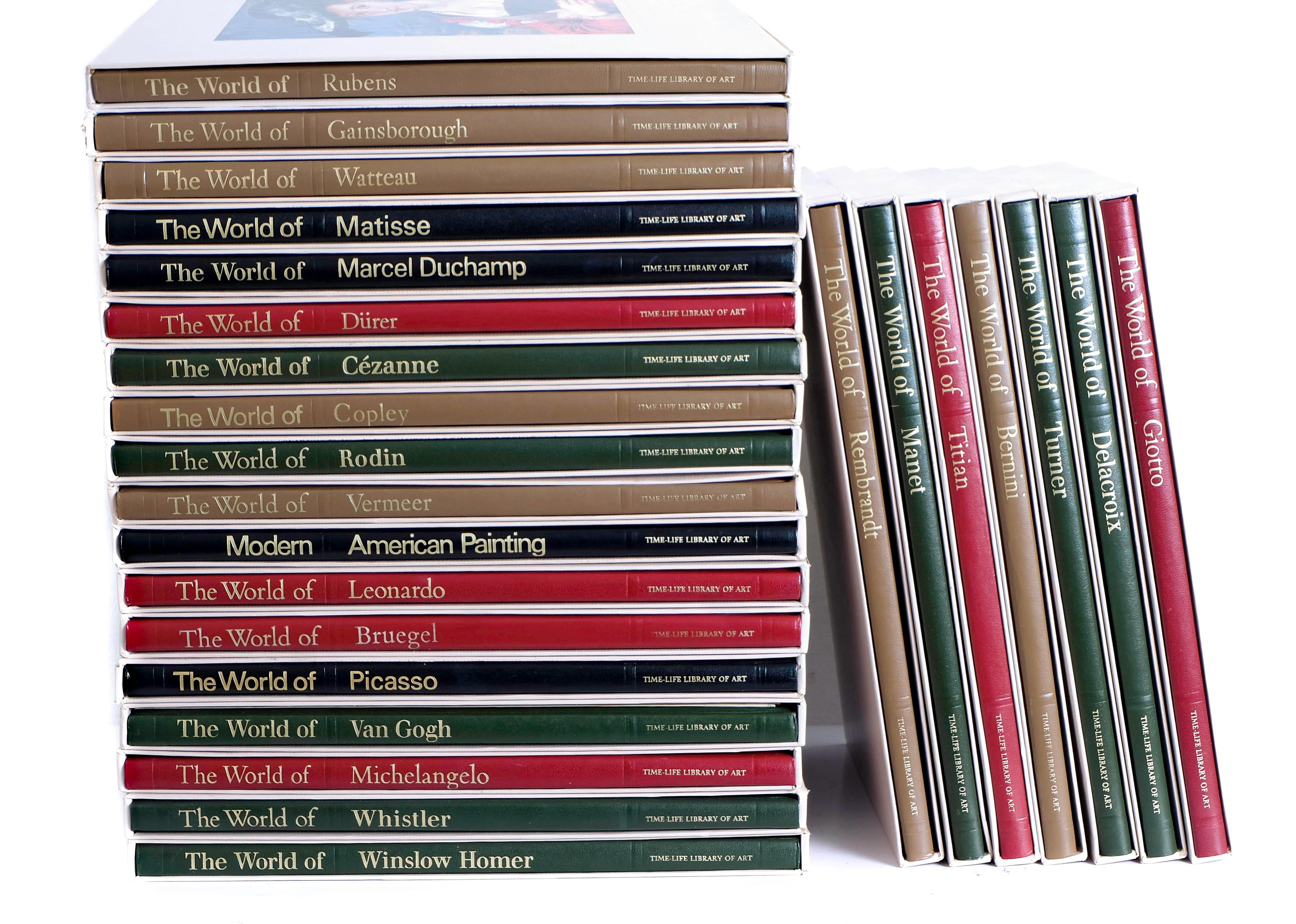 Time Life Library of Art - 25 Volumes w/Sleeves