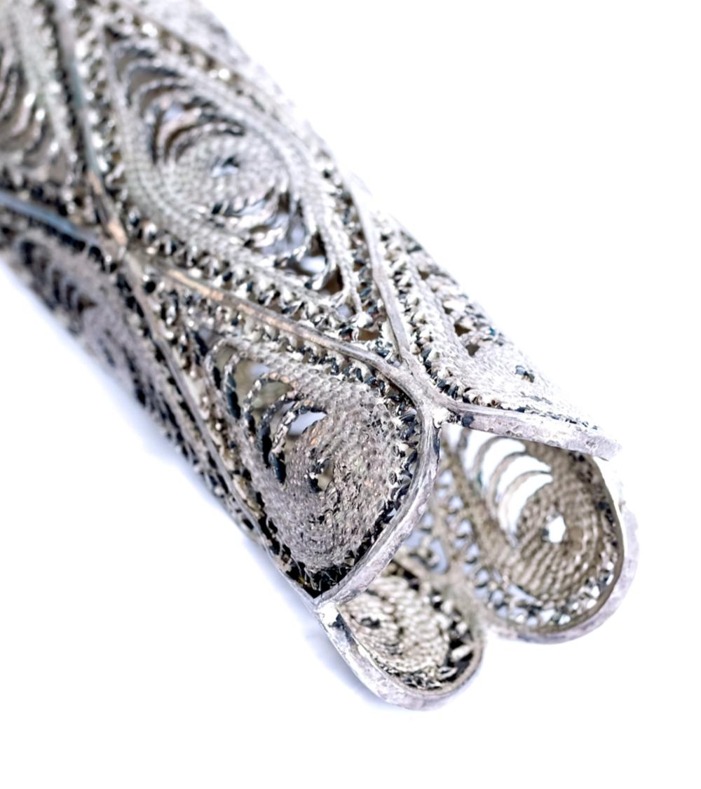 Sterling Silver Tussie Mussie Posey Holder