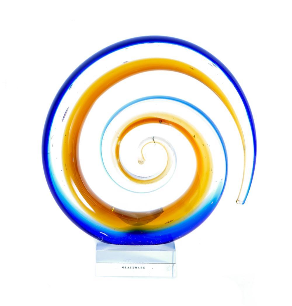 Murano Art Glass Table Top Sculpture