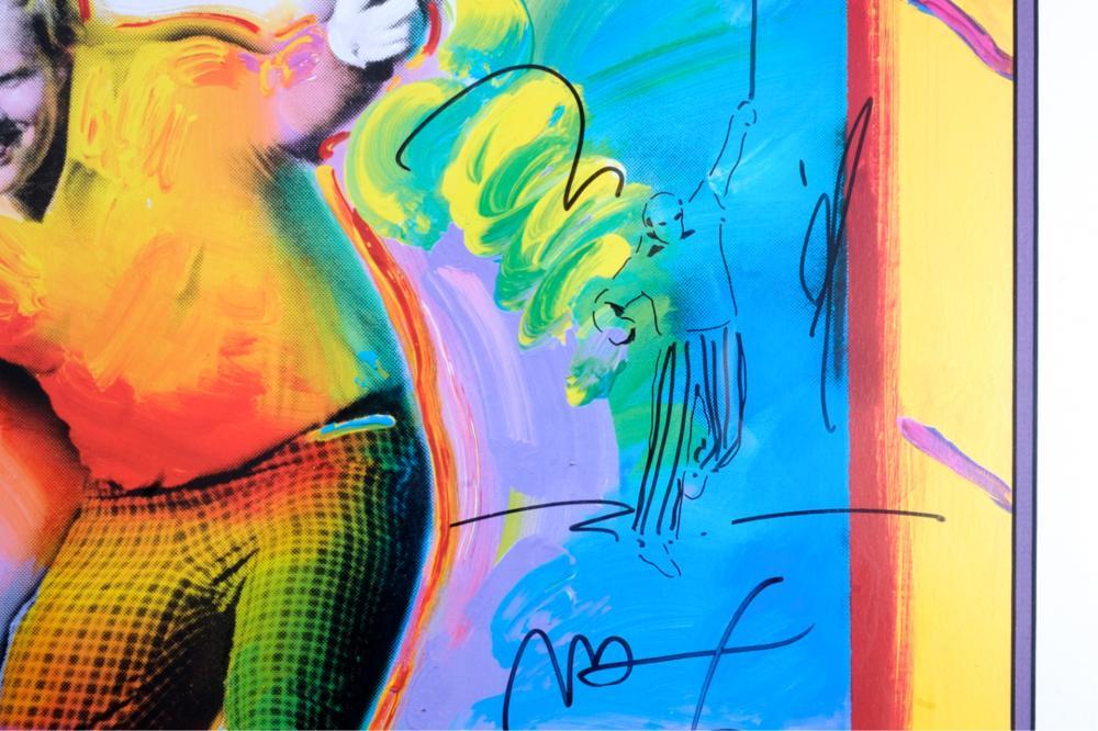 Peter Max 86 AT AUGUSTA Jack Nicklaus 32/150