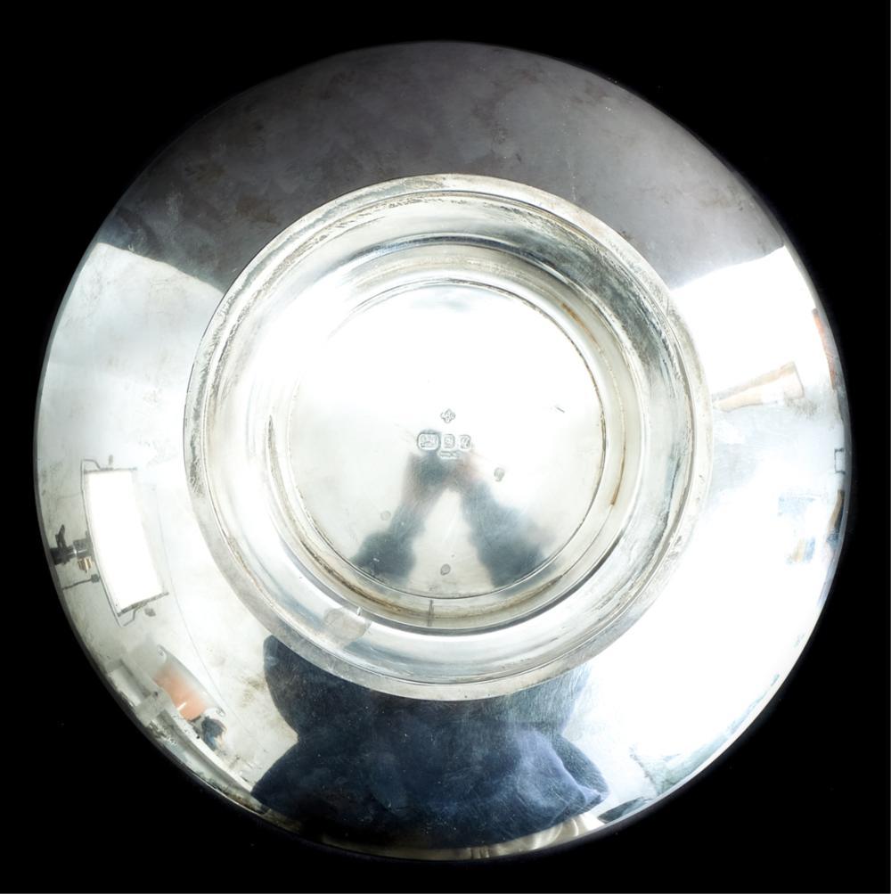 Important Asprey Sterling Custom Presentation Bowl