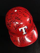 Texas Ranger 2001 Team Signed Full Size ABC