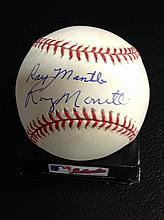 Ray Mantle And Roy Mantle Multi Signed