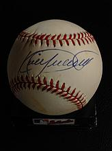 Kirby Puckett Autographed Rawlings Official