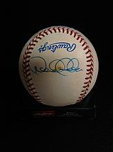 Derek Jeter Autographed Rawlings Official