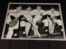 Moose Skowron, Bobby Richardson, Tony Kubek