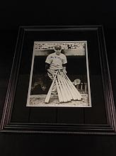 Bill Dickey New York Yankees Autographed Picture