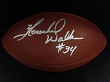 Herschel Walker Dallas Cowboys Autographed