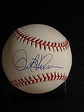 Orel Hershiser Autographed Official National