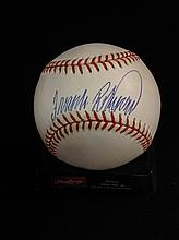 Frank Robinson Autographed Official American