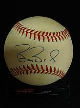 Barry Bonds Autographed American