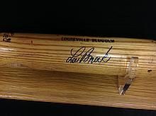 Lou Brock Autographed Louisville Slugger Game
