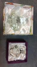 Pair of Oleg Cassini Artist Signed Perfume