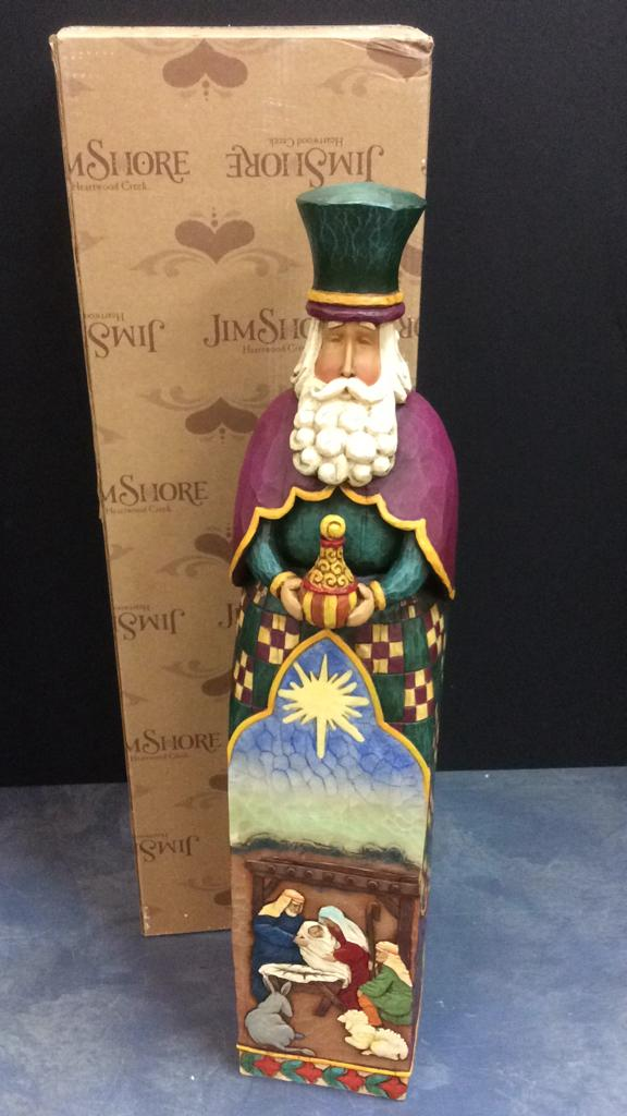 Jim Shore Heartwood Creek Large Wiseman Figurine