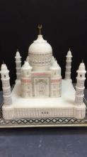 Taj Mahal Stone Statue Approximately 9 inches