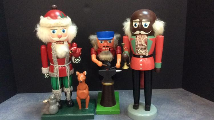Selection Of Erzgebirge Nutcrackers Tallest Is