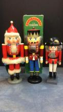 Selection Of Erzgebirge Nutcrackers One With