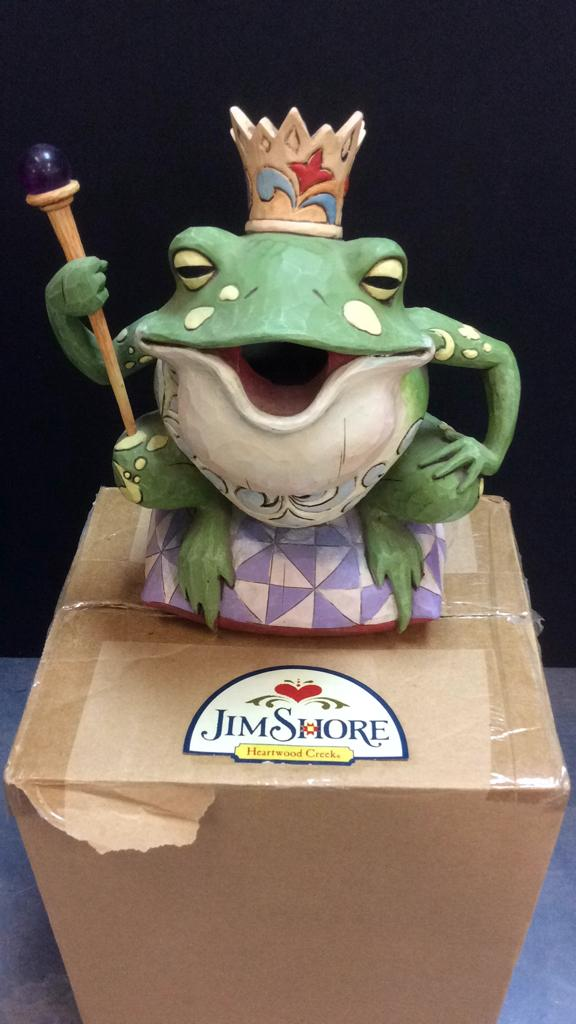 Jim Shore Heartwood Creek Hanging Frog Birdhouse