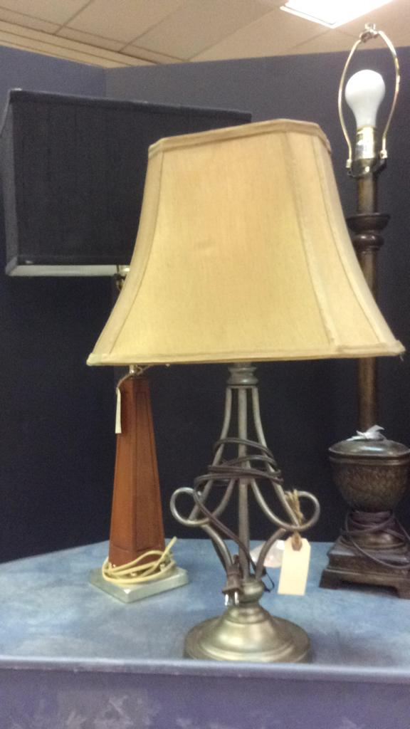 Selection Of Table Lamps Tallest Is Approximately