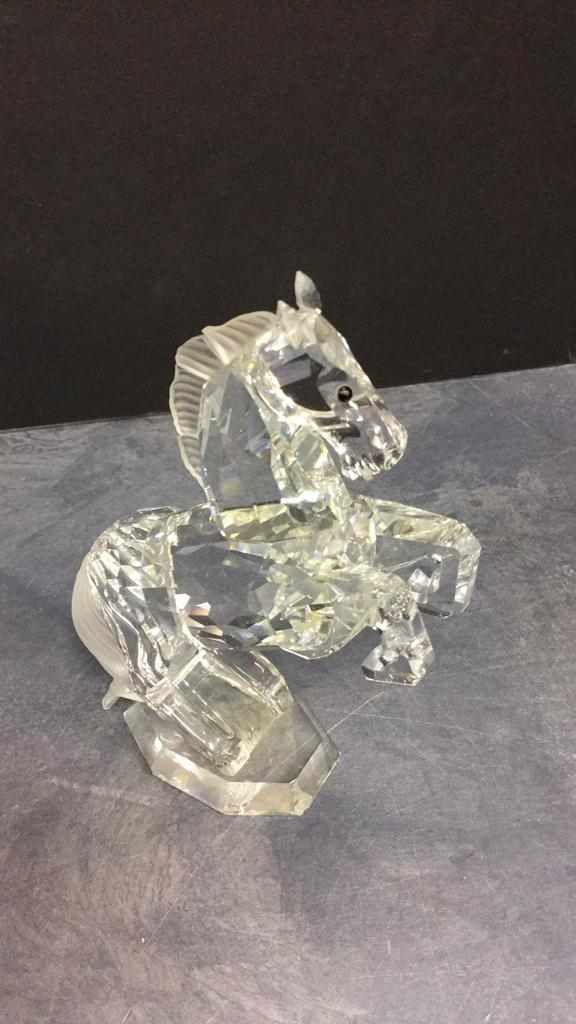 Swarovski Crystal Horse approximately 4.5 inches