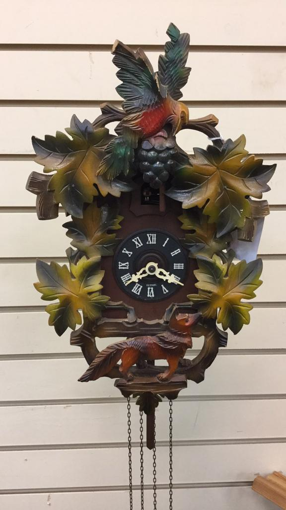 German Wood Cuckoo clock