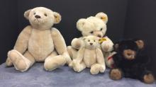 Selection of Steiff Bears-2 are signed by Hans