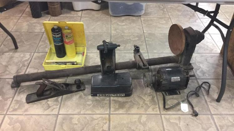 Vintage Lathe Working, Planer & More