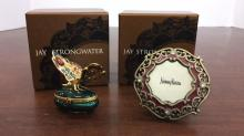 Jay Strongwater Swarovski Crystal encrusted small