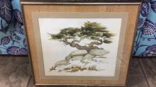 Gary Adcock listed artist signed watercolor