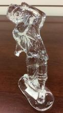 Waterford crystal golfer figurine approximately