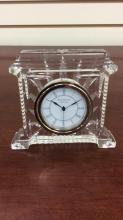 Waterford Crystal coliseum clock approximately 5