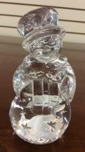 Waterford Crystal snow woman approximately 5