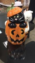 Halloween David's Ceramic Cookie Jar