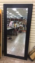 Large beveled wall mirror approximately 31