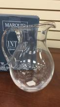 Waterford Crystal pitcher approximately 10 inches