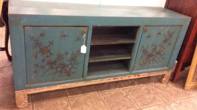 Oriental sideboard approximately inches long