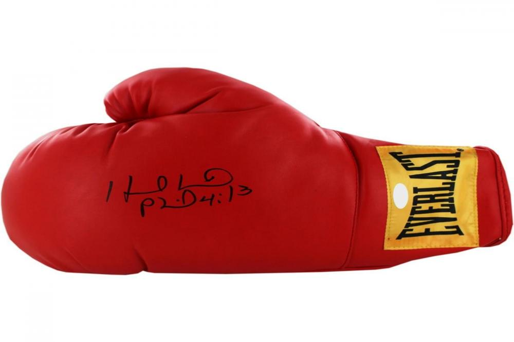 Evander Holyfield Autographed Boxing Glove