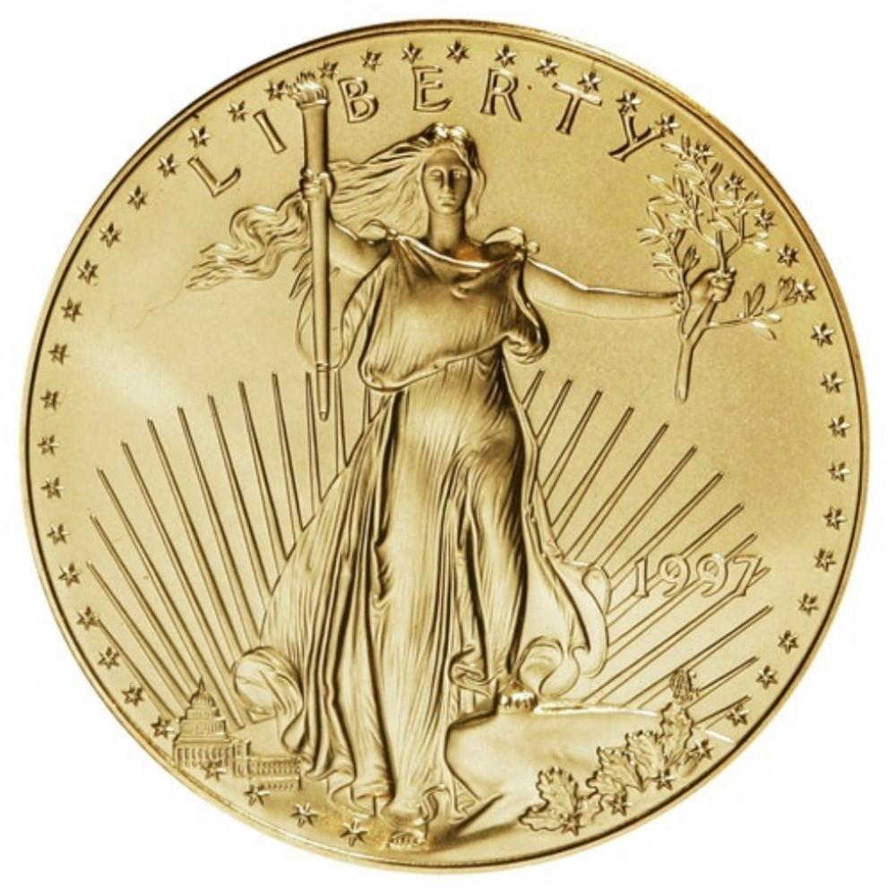 1997 American Gold Eagle 1 Ounce Coin $50