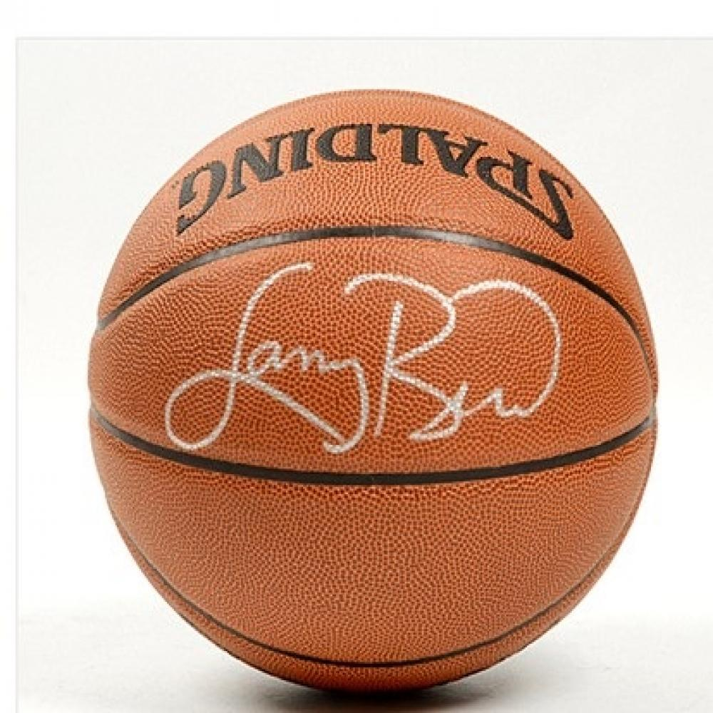 Larry Bird Autographed Basketball