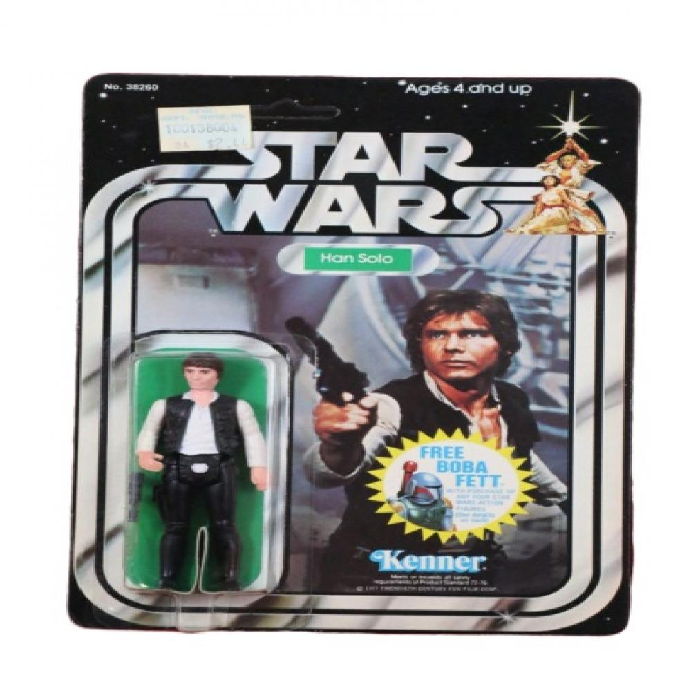 1978 Han Solo Large Head Star Wars 12C Kenner