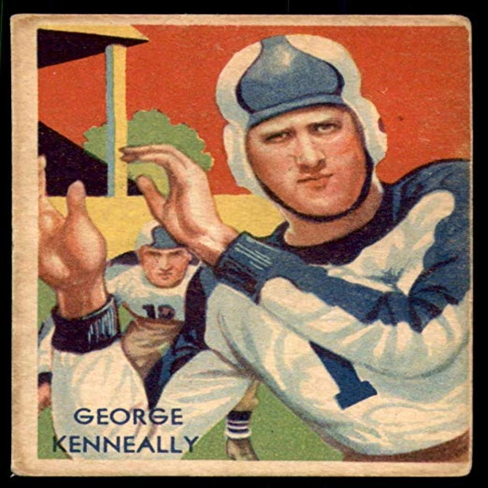 1935  #3 George Kenneally National Chicle Eagles