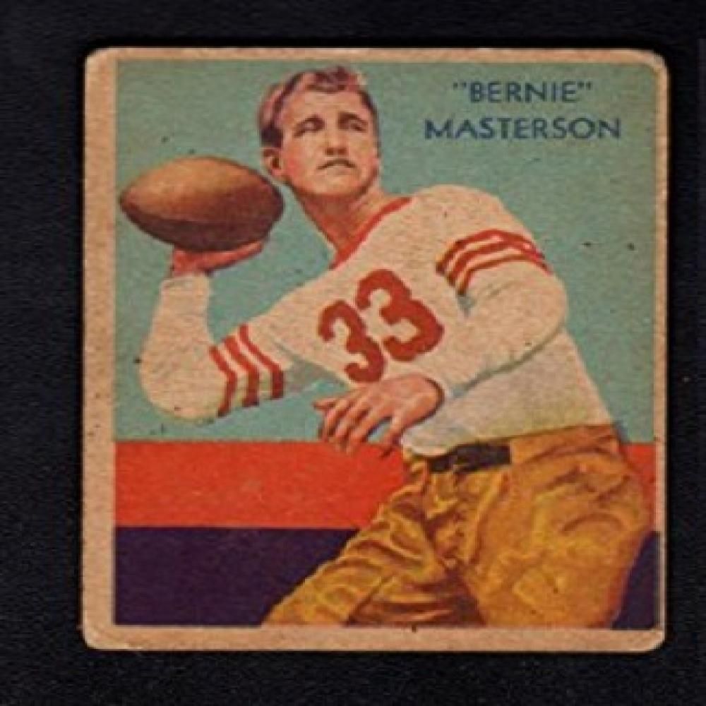 1935 #36 Bernie Masterson National Chicle