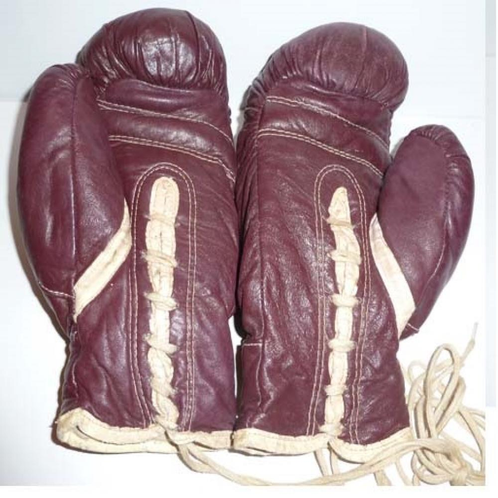 1940'S Everlast Dempsey Boxing Gloves