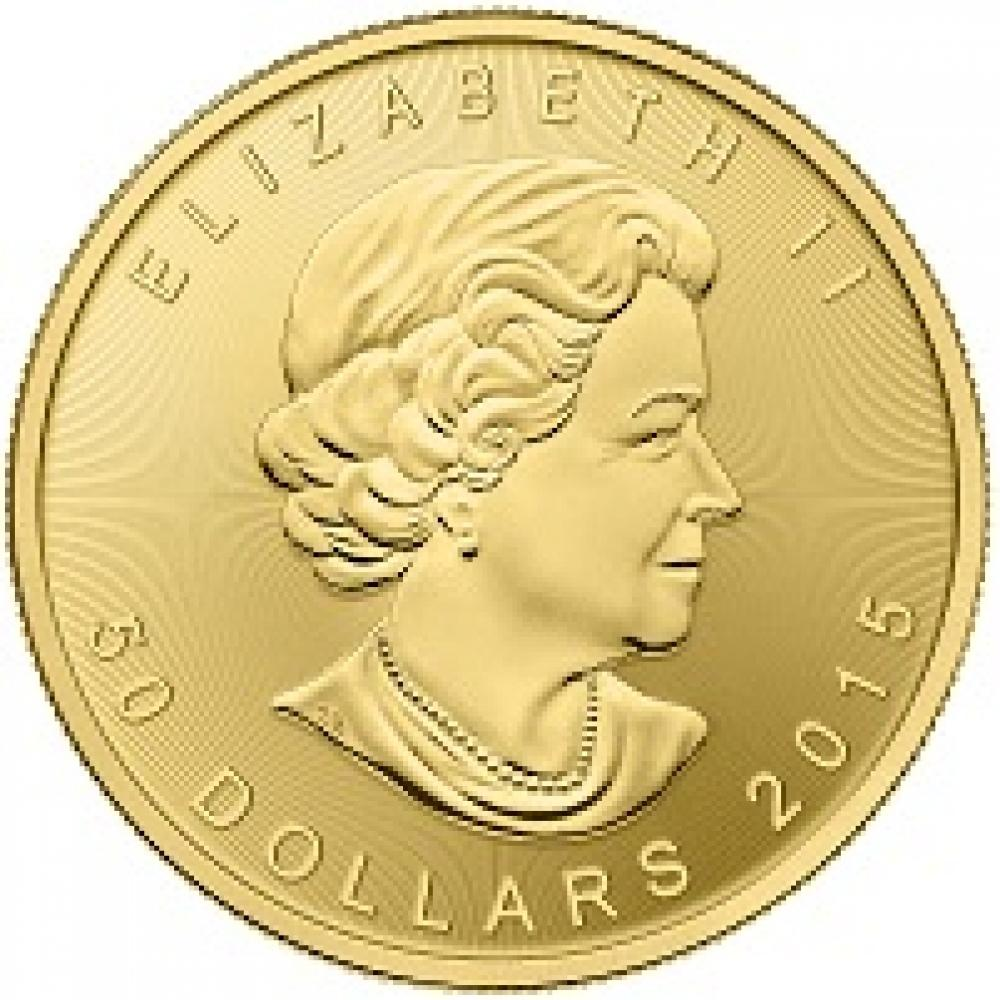 2015 Gold Maple Leaf $50 Coin