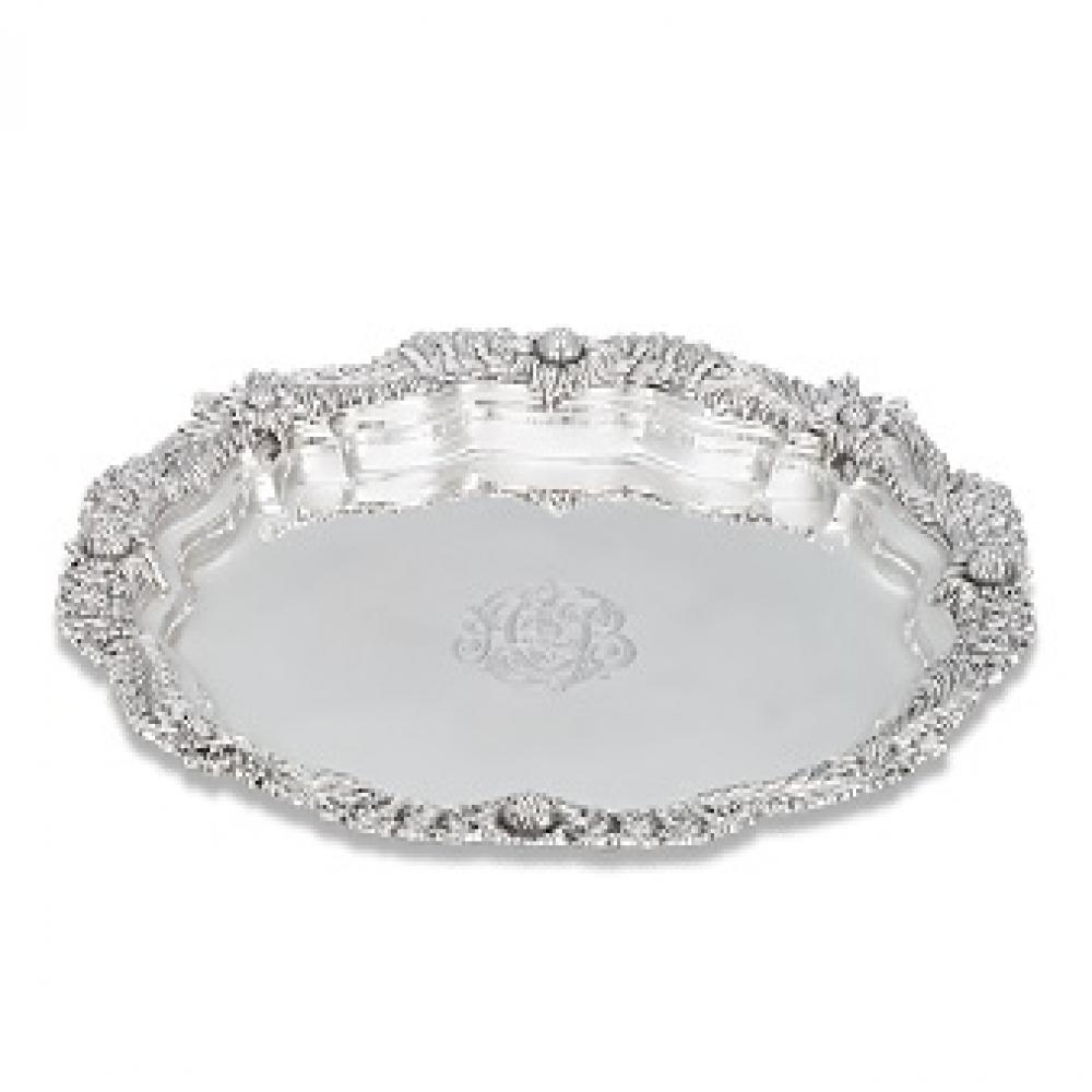 Tiffany And Co. Sterling Sliver Platter Approx.