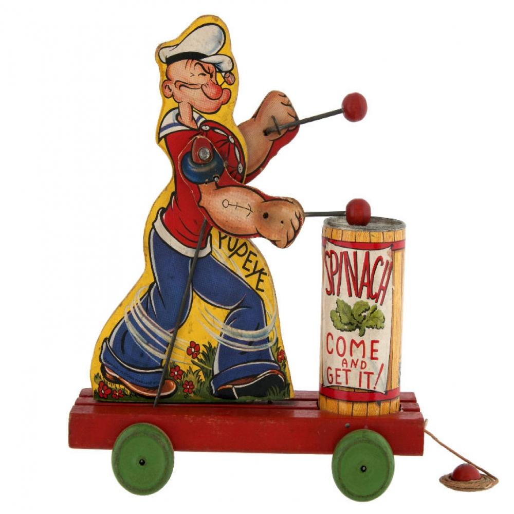 Popeye Spinach Eater #448 1939 By Fisher Price