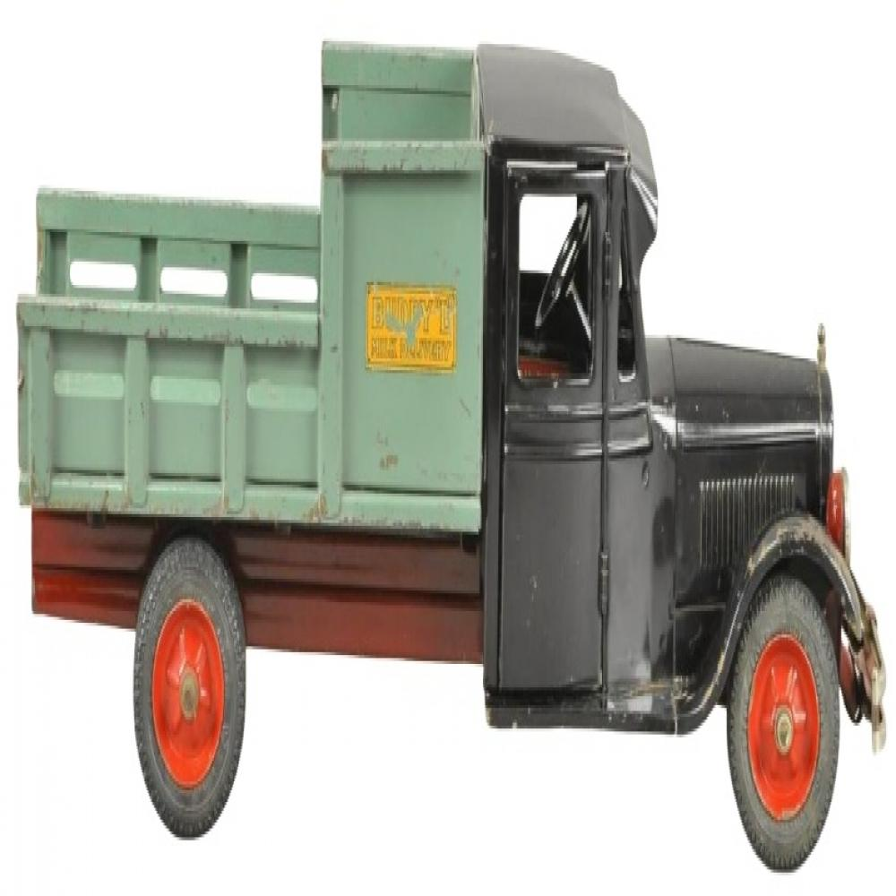 1930's Buddy L Jr. Milk Delivery Truck