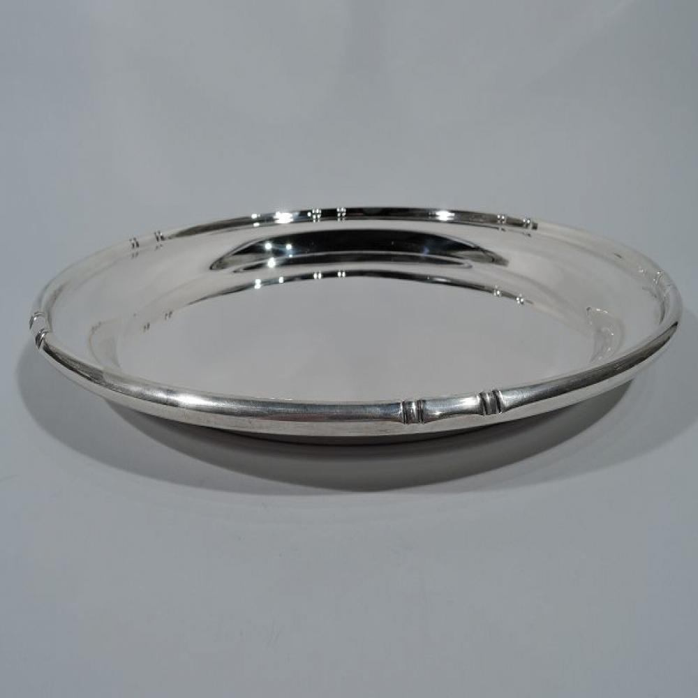 Cartier Sterling Silver Platter Approx. 16""
